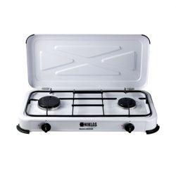cocina de gas 2 fuegos