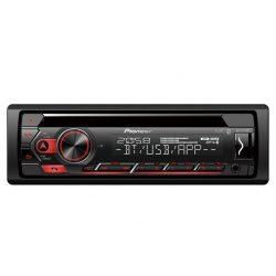 RADIO CD PIONEER COCHE USB BLUETOOTH SPOTIFY COMPATIBLE CON APPLE Y ANDORID PIONEER DEHS420BT