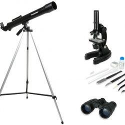 TELESCOPIO+MICROSCOPIO+BINOCULAR CELESTRON C22010