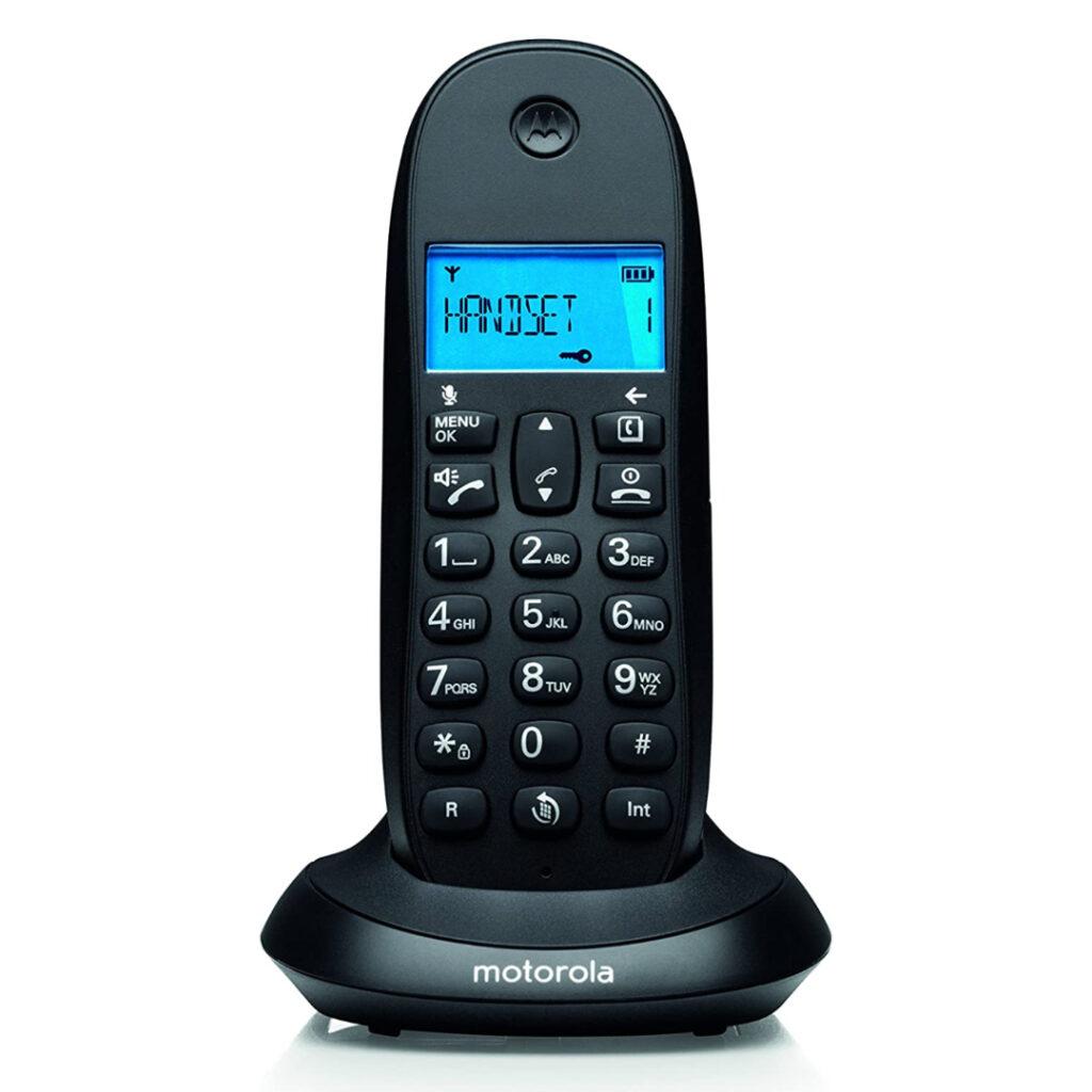 TELEFONO INALAMBRICO MOTOROLA DIGITAL CORDLESS TELEPHONE MOTOROLA C1001LB+